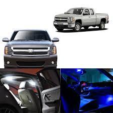 2007 Silverado Interior Lights 2007 2013 Chevy Silverado 8x Light Bulbs Smd Interior Led