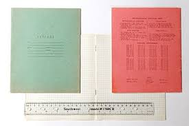 squared 12 sheet and 18 sheet exercise books used in russian primary s