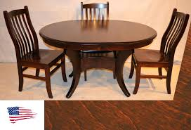 outstanding dining furniture in maple pedestal table ordinary amish round with self storing leaves tables inside custom round solid top table amish dining