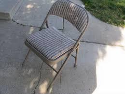 samsonite folding chairs padded