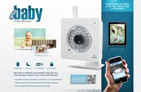 New WiFi Baby Video Monitor Lets Parents Watch and Hear Their Child ...