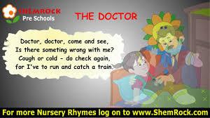 Nursery Rhymes The Doctor Songs With Lyrics Doctor Pinterest