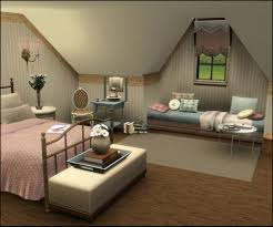 Small Picture Tutorial by missroxor on how to make vaulted ceilings in the Sims