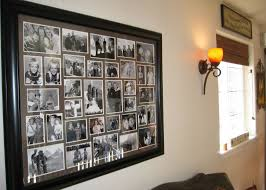 large collage picture frame decor ideas modern frames wall rustic