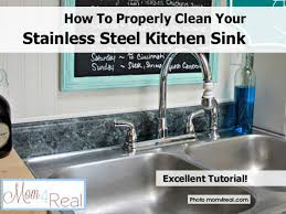 How To Properly Clean Your Stainless Steel Kitchen Sink Grey Kitchen