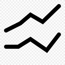 Line Chart Icon Design Png 1600x1600px Line Chart Black