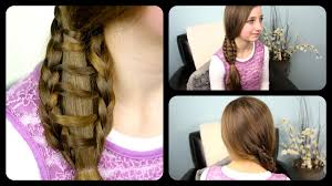 You Tube Hair Style ladder braid side ponytail cute girls hairstyles youtube 4409 by wearticles.com