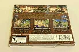 Age Of Empires Collectors Limited Edition 5pc Games