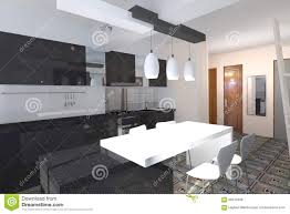 Autocad For Kitchen Design Kitchen Design Stock Illustration Image 66910469