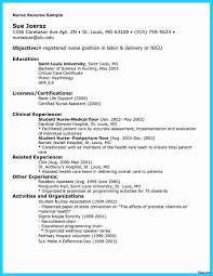 Sample Nurse Resume 100 Best Of Pics Of Example Nursing Resume Template Ideas 99