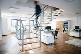 Office Stairs Modern Office Stairs Chris Nelson Metalworks