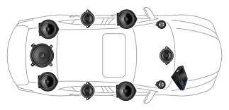 Image result for automobile sound system graphic