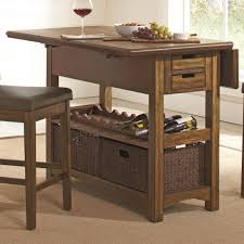 Kitchen Island Or Table Salerno Rustic Counter Height Kitchen Island Coaster 105567