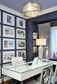 office decor inspiration. Gallery Wall On Dark Office Decor Inspiration