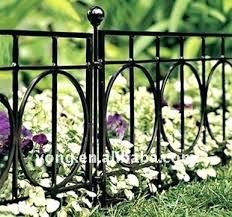 decorative metal fence panels.  Decorative Metal Garden Fencing Panels Short Fence Suitable Size  Galvanized Steel Buy And Decorative Metal Fence Panels