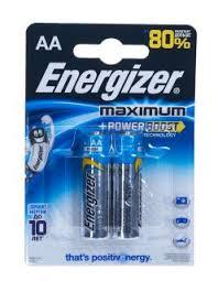 <b>Батарейка Energizer Maximum AA</b> LR06 E91 2шт. купить ...