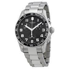 victorinox swiss army chrono classic stainless steel mens watch victorinox · zoom
