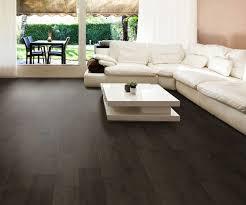 dark tile floor design idea