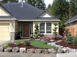 Awesome Landscaping Designs For Ranch Style Homes Ideas Interior
