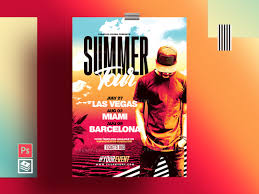 Flyer Poster Templates Summer Flyer Poster Template By Rome Creation On Dribbble