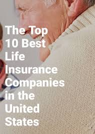 the top 10 best life insurance companies in the united states