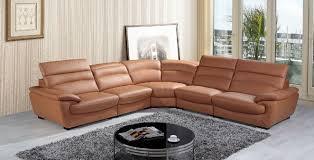 your bookmark products 4 510 00 divani casa hana modern camel leather sectional sofa