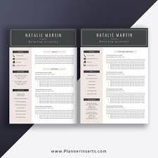 Experienced Professional Cover Letter Editable Professional Resume Bundle 2019 Cover Letter Simple Cv Template Office Word Resume Creative Modern Resume Design Mac Pc Instant