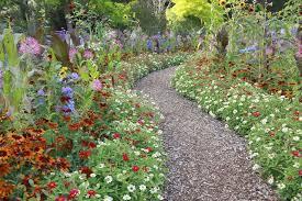 functional flower garden paths