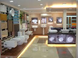 Electrical Shop Counter Design Sanitaryware Washbasins Closets Display Branding Lighting