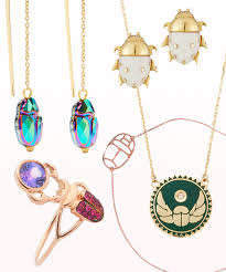 spruce up your style with scarab jewelry