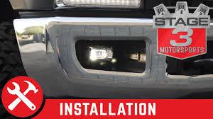 F350 Fog Lights 2017 F250 F350 Morimoto Xb Led Replacement Projector Fog Lights Install