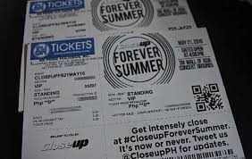 closeup forever summer ticket promo