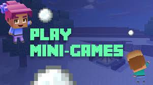 play mini games