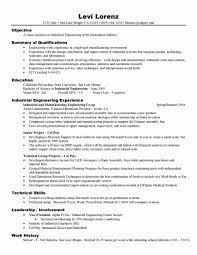 Engineer Resume Examples Resume Sample For Project Industrial
