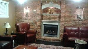 brick wall fireplace painted brick fireplace pictures before and after