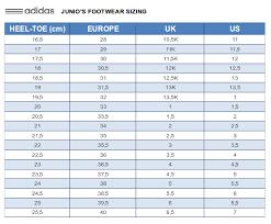 Adidas Shoe Size Chart Junior Adidas Shoes Juniors Boys Ace 15 3 Ct J