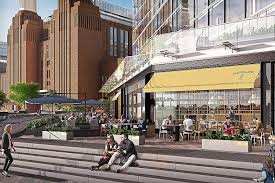 battersea power station bans big chains from 9bn village launch apple head office london