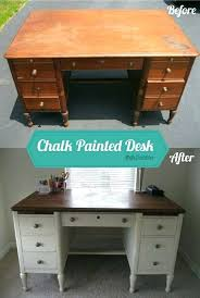 precious painting a desk i like the dark stained top home office decor dark paint furniture precious painting a desk