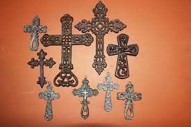cross wall decor cast iron southern collection free big
