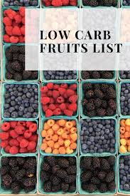 Keto Fruit Chart Low Carb Fruits List The Ultimate Guide To Keto Fruits