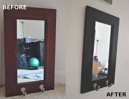 diy painted mirror frame. How To Paint A Non-Removable Mirror Frame   Apartments, Living Rooms And Room Diy Painted