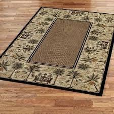 palm tree bath rug palm tree bathroom decor ideas with beautiful courtyard palm tree area rugs