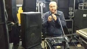 ses sistemi kurulumu-mikser power nasıl baglanır-pasif hoparlor baglatısı -  YouTube