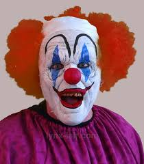 fresh makeup with step by step clown cakeup with clown face foam prostethic