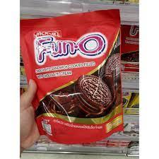 Bánh quy kem Thái Lan Fun-O Loại Mới Thailand(Bán Lốc 3 Gói) - ChangBkk Shop