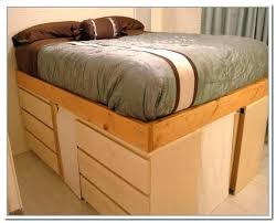 Full Bed With Storage Under Full Size Bed With Storage Underneath ...