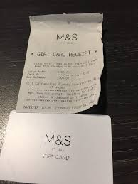 marks spencer gift card 100 accept 90