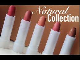 makeup brands 2016 middot natural collection lipsticks the review
