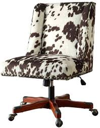 leopard print office chair. cow print office chair leopard cover m