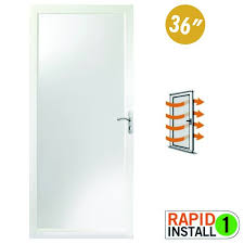 glass type clear glass door color white door handing right hand hardware finish satin nickel id 3074457345616680917